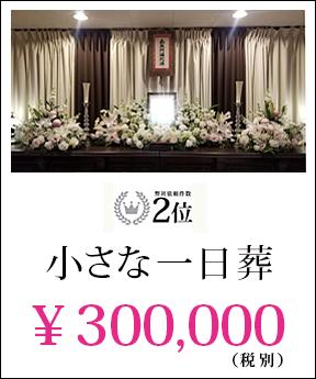 小さな一日葬 30万円